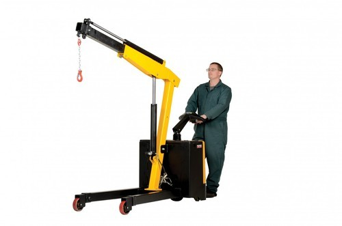 Electric Operated Mobile Floor Crane