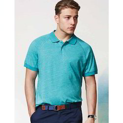 Gents Melange Polo T Shirt