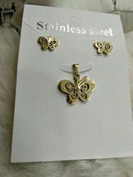 J. H Gold Necklace