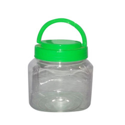 Transparent Plastic PET Confectionery Jars