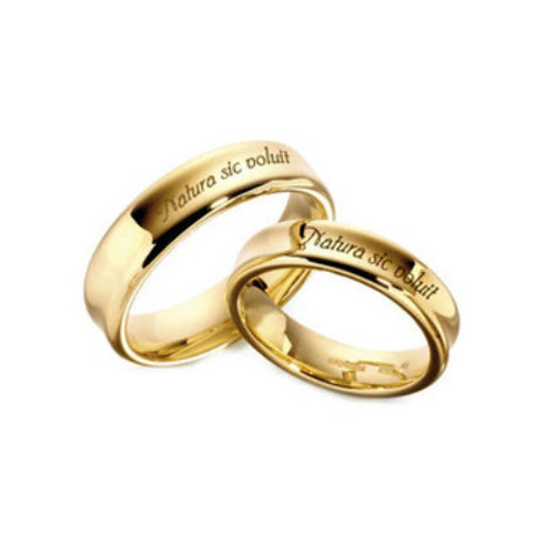 Laser Engraving Services On Gold Ring