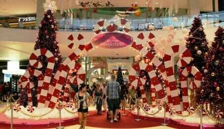 christmas decoration in mall
