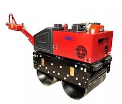 MKG Walk Behind Double Drum Vibratory Roller
