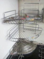 Kitchen Corner Rack