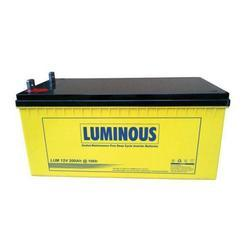 Luminous Lead Acid Batteries