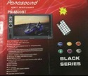 Panasound Car Double Din Touch Screen player