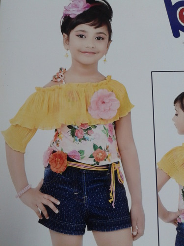 f9069f8f3 Girl Kids Western Wear   X-Man Textiles   Manufacturer in ...
