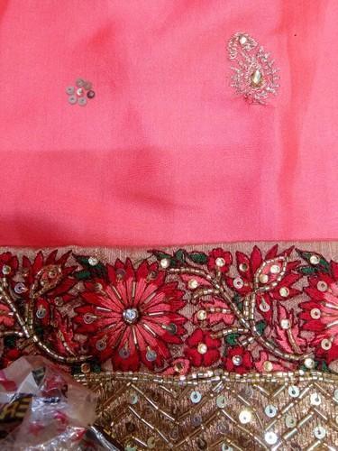 920675cd23 Pink Party Wear Dola Silk Saree, Rs 6000 /piece, Shree Nidhi | ID ...