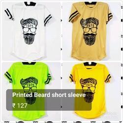 Mens Trendy Printed T Shirt