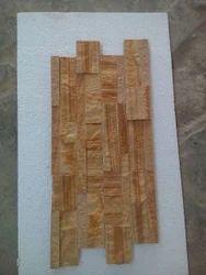 Teak Wood Ladge Stone