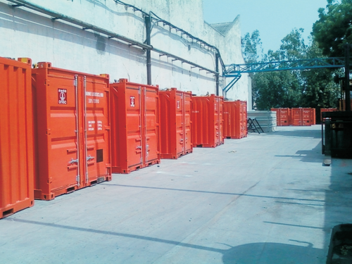 Stainless Steel Offshore Containers, DCM Hyundai Limited | ID: 3848355062