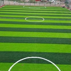 Green Artificial Sports Football Field Turf