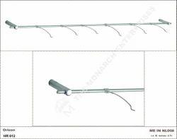 Non Lockable Horizontal Display Rod For Eye wear Showroom 39- 6 Frame Display