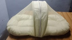 White Baby Mosquito Net Bed