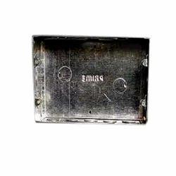 Galvanized Iron (GI) Rectangular Electrical Modular Box