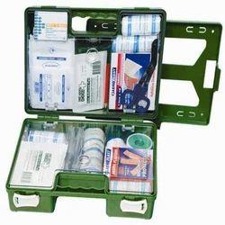 Plastic Box A First Aid Kit