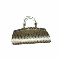 Ladies Golden Handbag