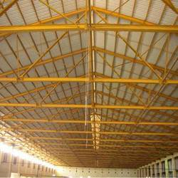 Industrial Shed Fabrication Work