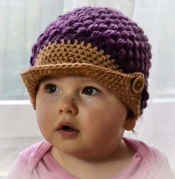 d5f3cc15ee1 Crochet Cap Hat Beanie cap - Crochet Cap For Baby Girl Boy ...