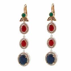 Turkish Silver Earring