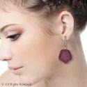 Ruby Gemstone Earring