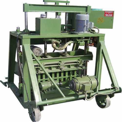 Type H 1000 Hydraulic Concrete Block Making Machine