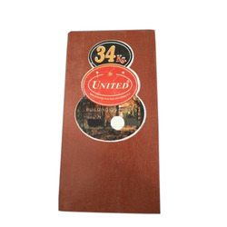 Red Polished Film Faced Plywood, Length: 8 feet