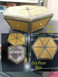 Wooden Antique Dry Fruit Box