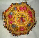 Embroidered Indian Sun Parasol