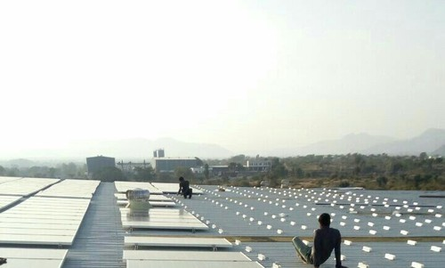 Aluminum Solar Panel Mounting Structure Thickness 2 Mm