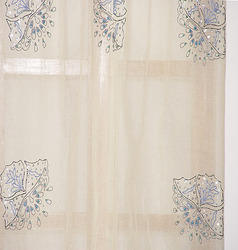 Cotton Organdy Curtain