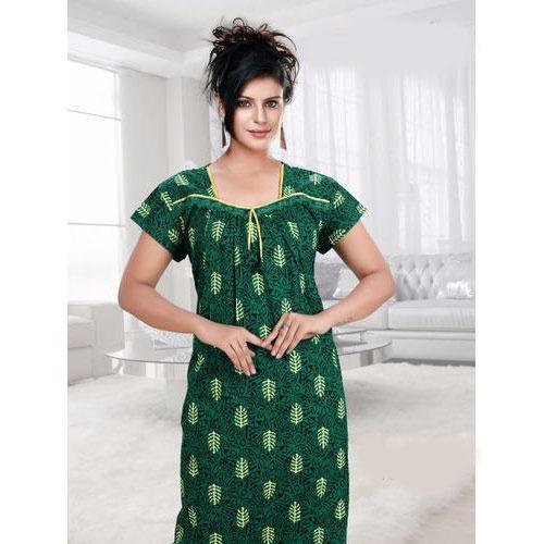 c1e6b815be3c Ladies Cotton Night Gown at Rs 300  piece(s)