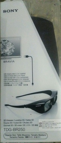 Sony Bravia Active Shutter 3D Glasses | DLP - Link