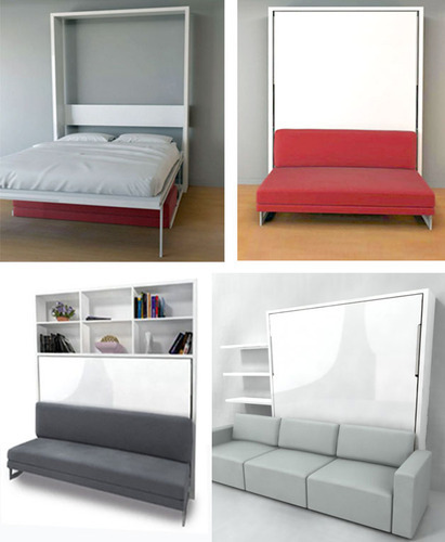 Wall Bed Couch Mechanism