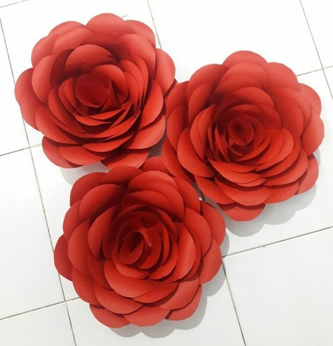 Giant paper flower rose at rs 320 piece kagaz ke phool giant paper flower rose mightylinksfo