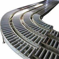 Non Powered Gravity Roller Conveyor