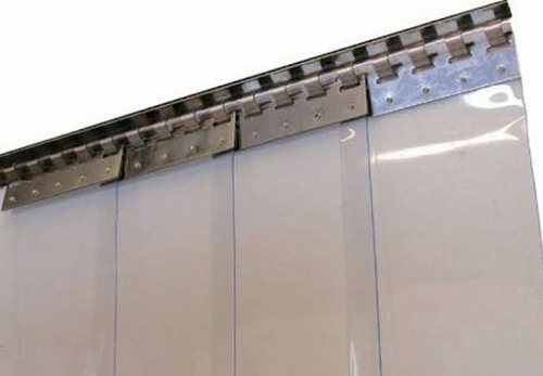 Stainless Steel Pvc Strip Curtain Mounting Bracket Rs 750