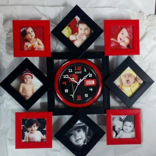Collage Frame 4 X 4 & Frame Design 12 X 18 Photo Frame