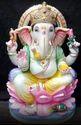 1 Feet Marble Ganesha Statue