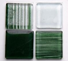 Green Crystal Mosaic Tiles