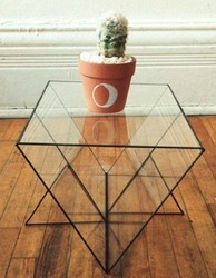 Glass Square Table