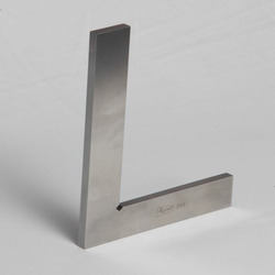 AA-410 Hardened & Ground Tri- Square Flat Edge Without Stock