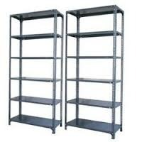 Silver Polished Steel Racks, For Home