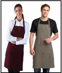 Polyester Bib Butcher Apron for Kitchen