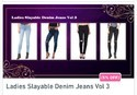 Regular Fit Ladies Slayable Denim Jeans