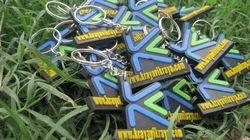 Rubber Keyrings