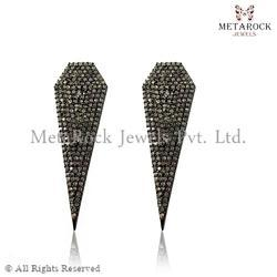 Diamond Arrow Head Earrings