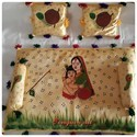 Hand Painted Baby Bedsheet