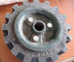 Generator Set Wheel 8 x 2 with CI Plate