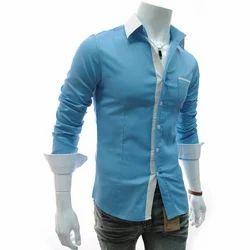 Men Cotton Mens Designer Casual Shirt, Size: Large